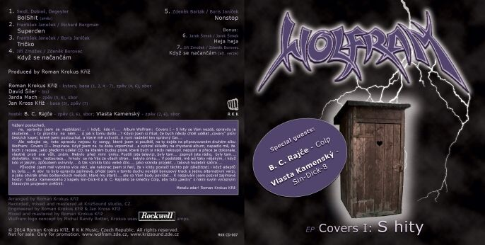 Cover: Wolfram - EP Covers I - S hity